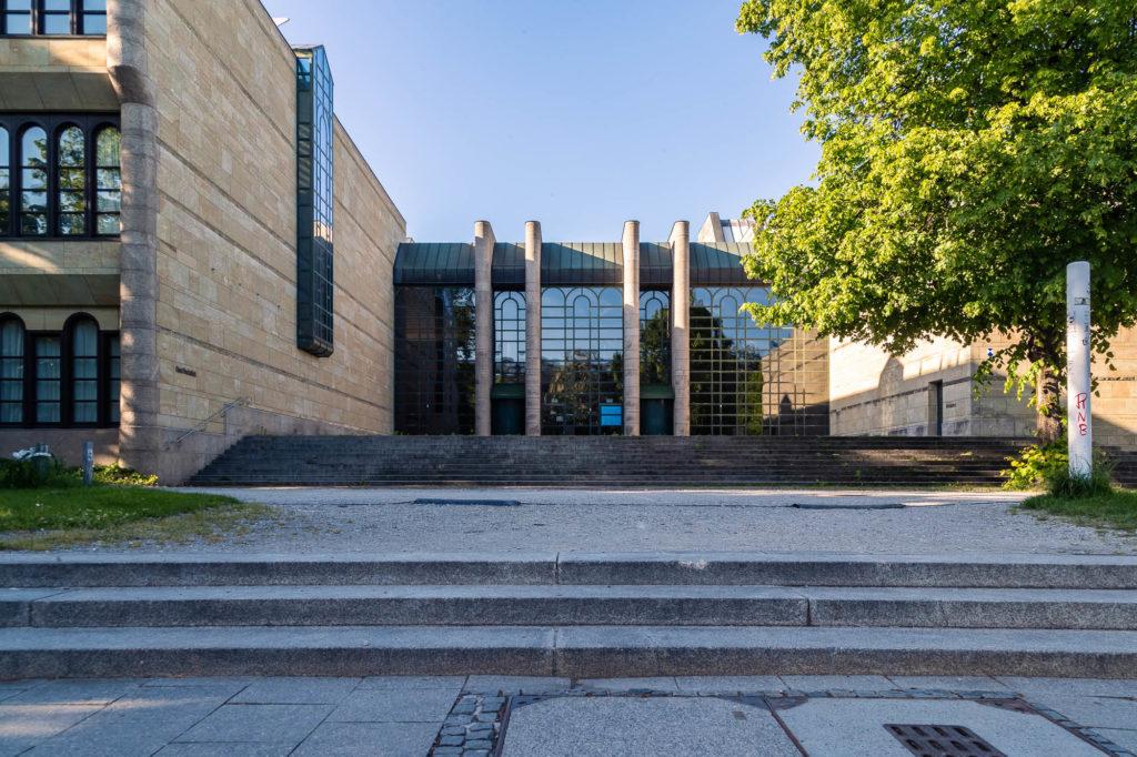 Pinakothek Eingang